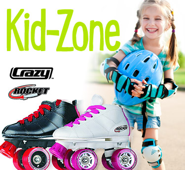Shop for kids skates at rollerskatin.ca