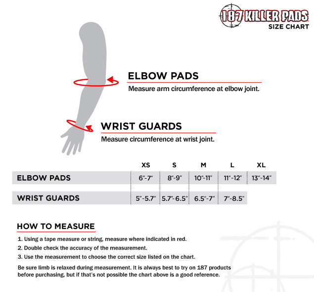 187Elbow WristSizing