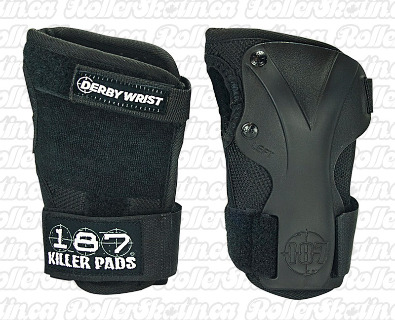 INSTOCK! 187 Killer Pads Derby Wrist Guards