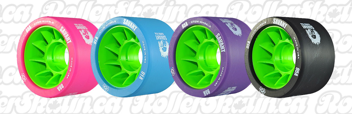 INSTOCK! ATOM SAVANT Wheels 4-Packs