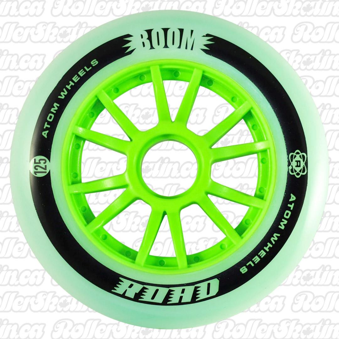ATOM BOOM Road Outdoor Inline Wheels 125mm 8-Pack