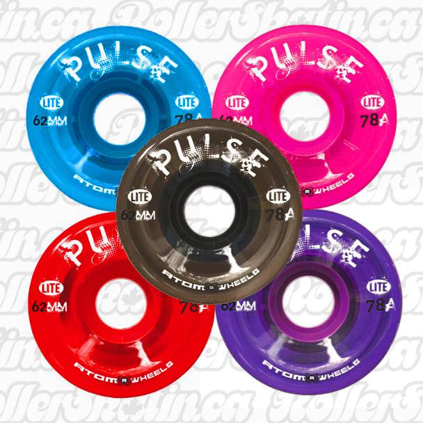 INSTOCK! ATOM Pulse Lite Outdoor Wheels 8-Packs