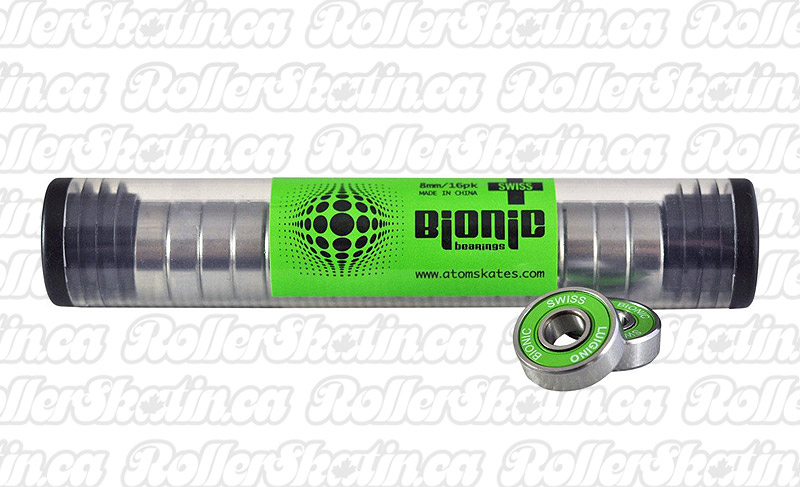 INSTOCK! BIONIC SWISS 8mm Bearings 16-Pack