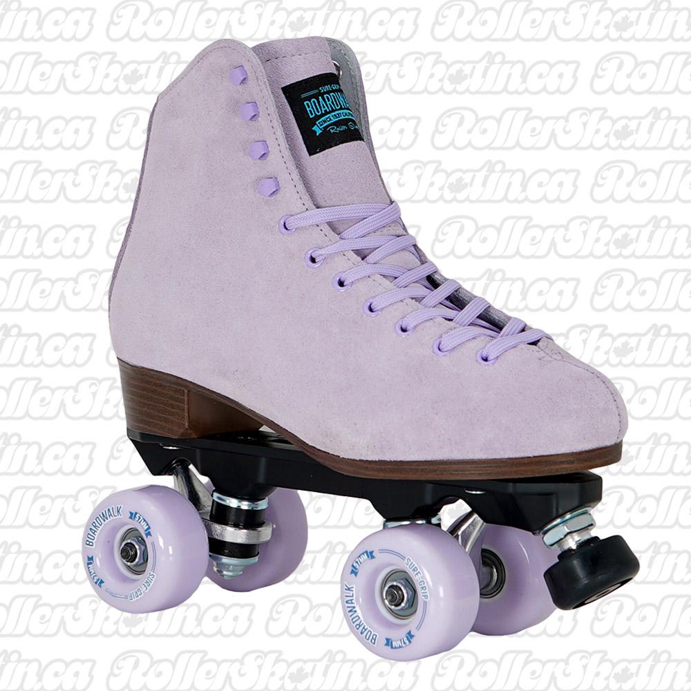 INSTOCK! SURE-GRIP BOARDWALK Lavender Outdoor Roller Skate