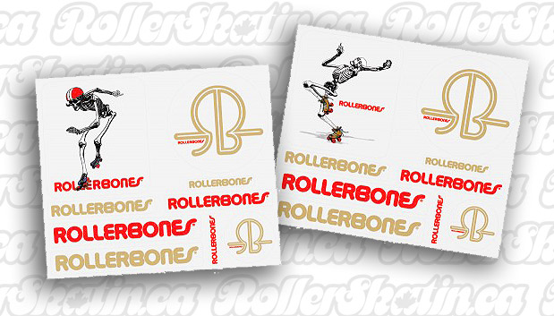 BONES Skeleton & Derby Stickers