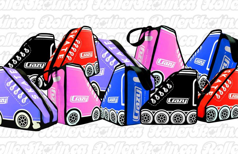 CRAZY Retro Skate Bag!