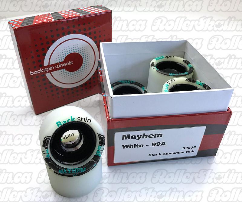 BackSpin MAYHEM Wheels 99A 8-Packs