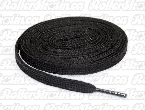 Black Cotton Skate Laces