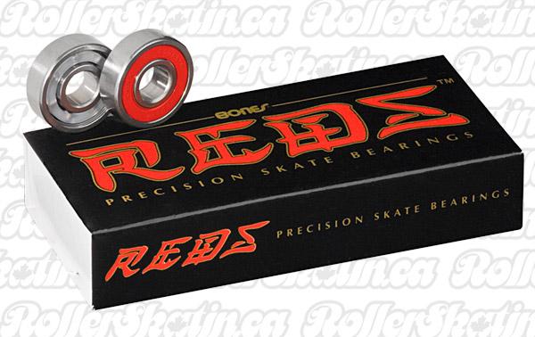 INSTOCK! BONES Reds Bearings 16-Pack