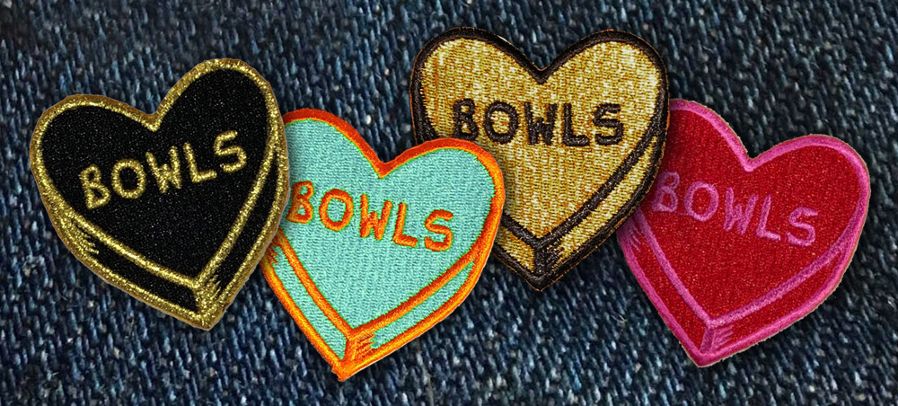 Chicks in Bowls CIB Heart Bowls Patches