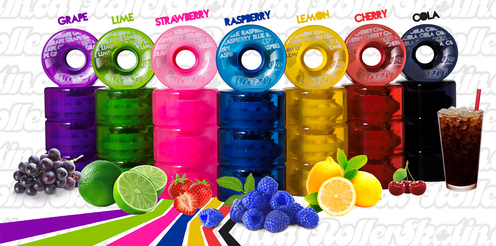 CRAZY Wheel Candy Outdoor Wheels 4-Packs