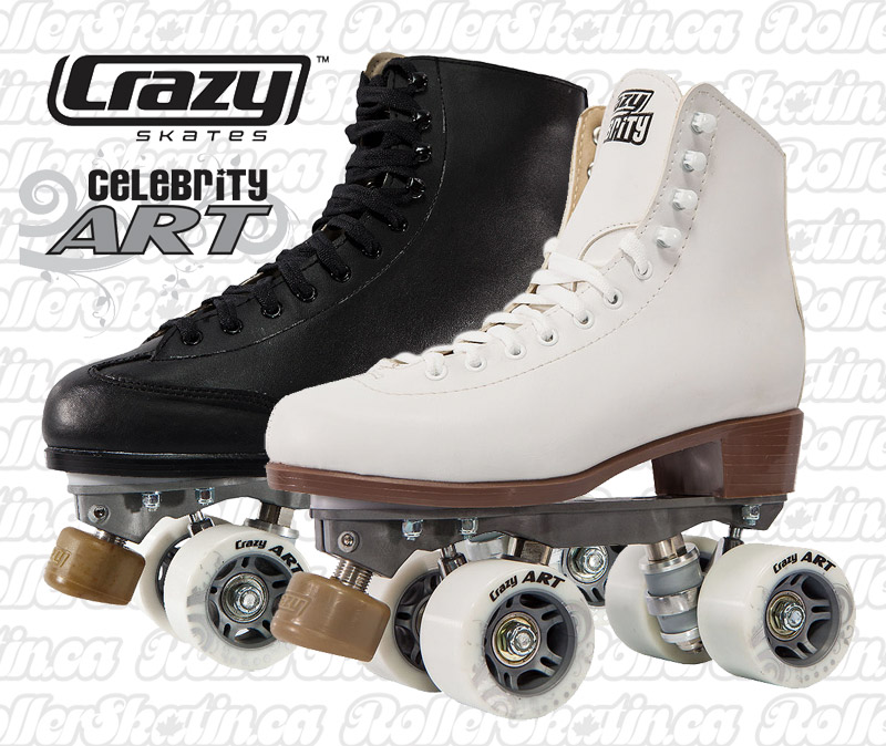 INSTOCK CRAZY Celebrity Art Indoor/Outdoor Roller Skate