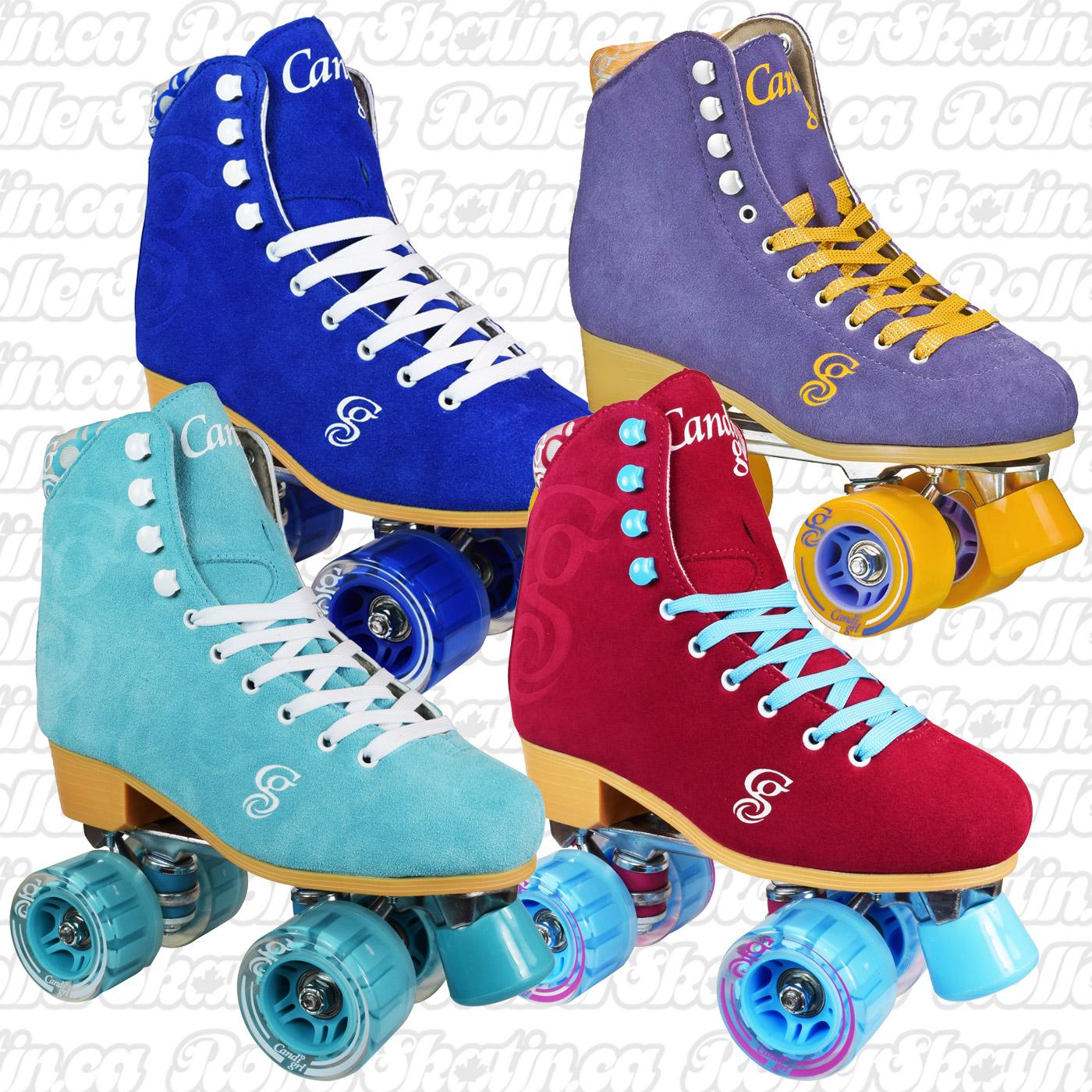 INSTOCK! Candi Girl Carlin Suede Roller Skates!
