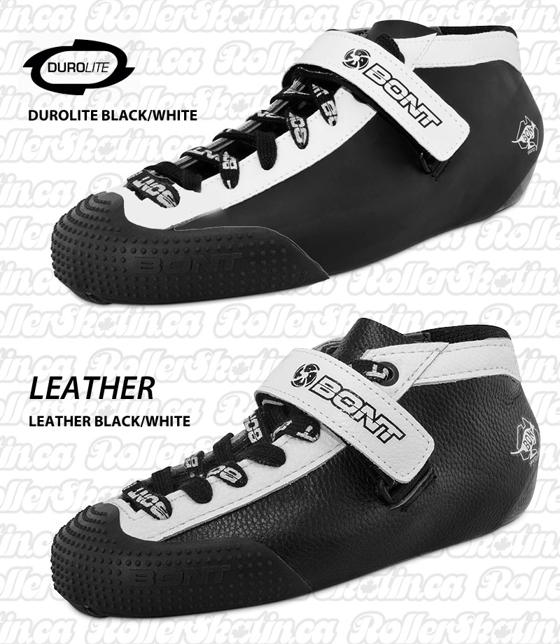 BONT Hybrid Carbon Boots with Bumper Leather or Durolite  - LAST ONES 50% Off!
