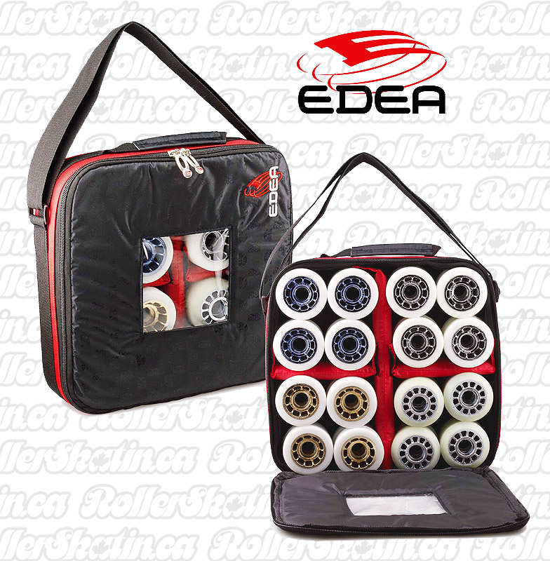INSTOCK! EDEA 4 Set Roller Skate Wheel Case