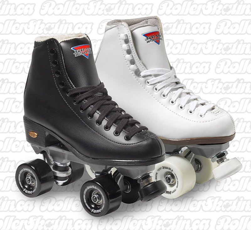 INSTOCK! SURE-GRIP FAME Artistic Rink Roller Skate - Indoor OR Outdoor!