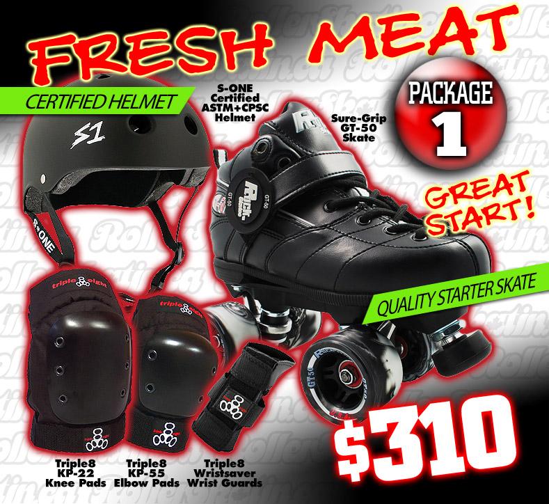 FRESH MEAT Derby Package 1 - Great Start!
