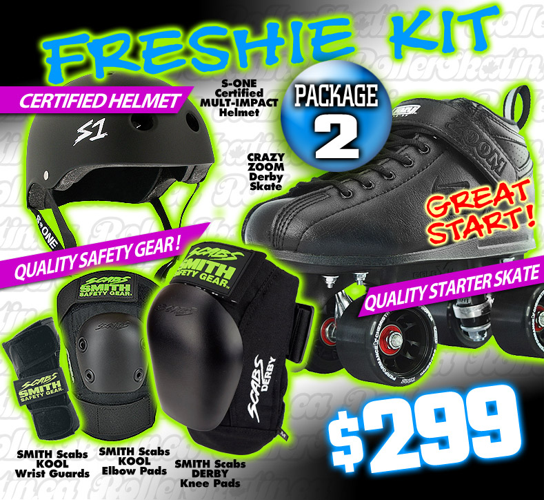 FRESHIE KIT 2 - GREAT START Derby Starter Package!