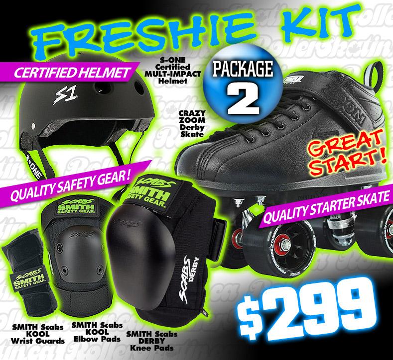FRESHIE KIT 2 - GREAT START Derby Starter Package!