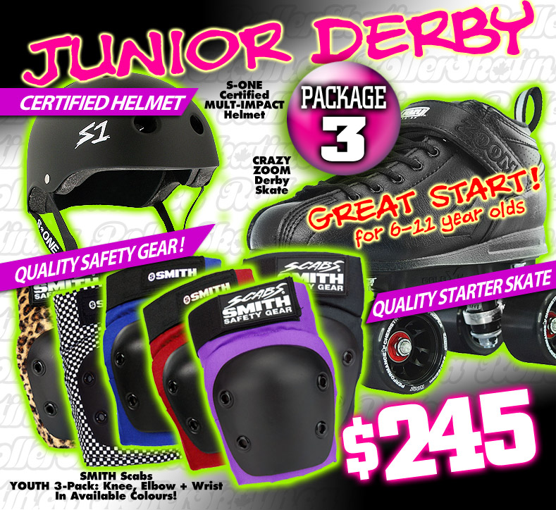 FRESHIE KIT 3 - GREAT START Junior Derby Starter Package!