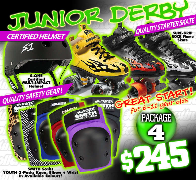 FRESHIE KIT 4 - GREAT START Junior Derby Starter Package!
