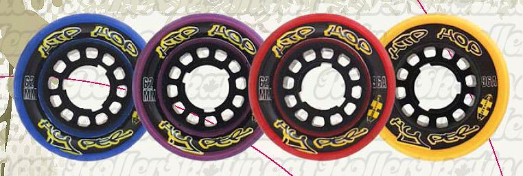 HYPER HIP-HOP 96A Wheels 8-Pack
