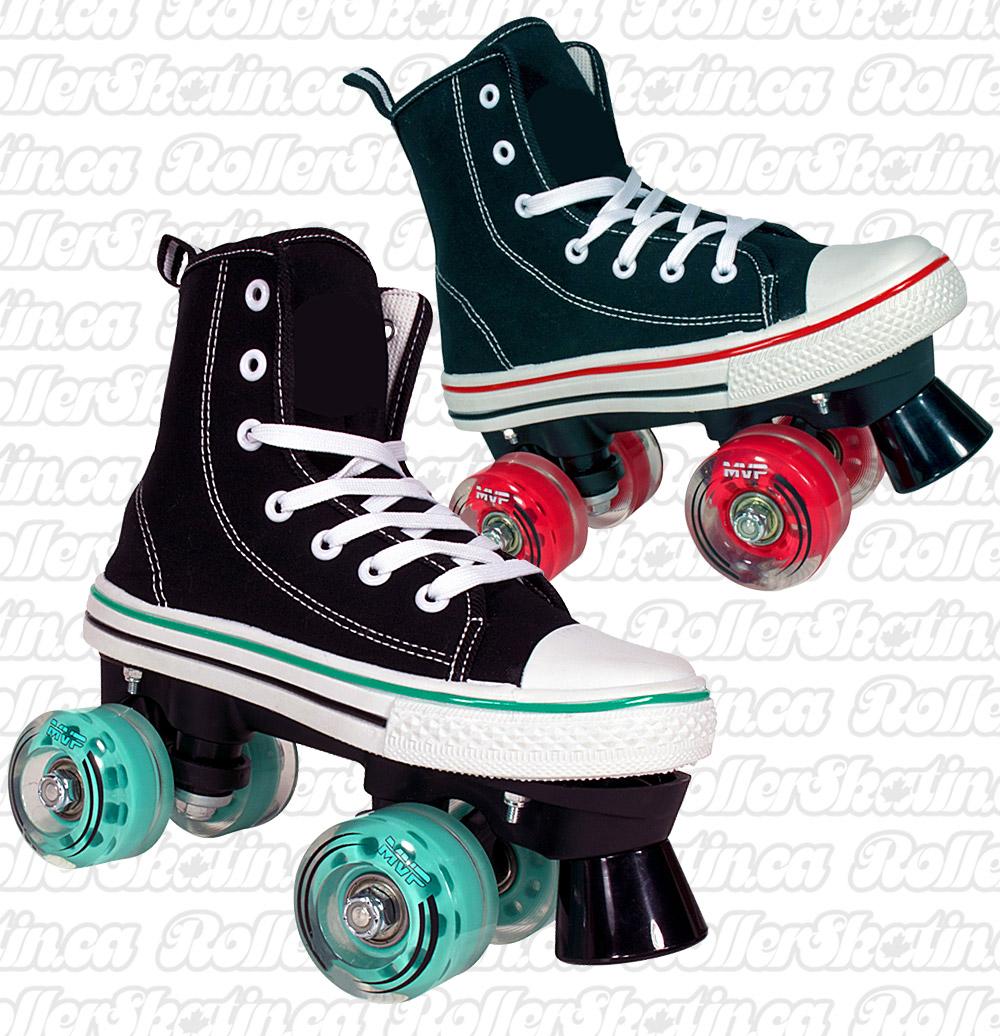 INSTOCK Last pair size 1! MVP Canvas Running Shoe Skates
