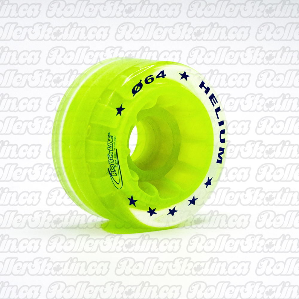 INSTOCK! Roll-Line HELIUM Jam Indoor/Outdoor Wheels 83A Set of 8