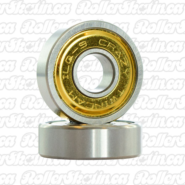 CRAZY ILQ-9 TwinCam Bearings 8mm 16-Pack