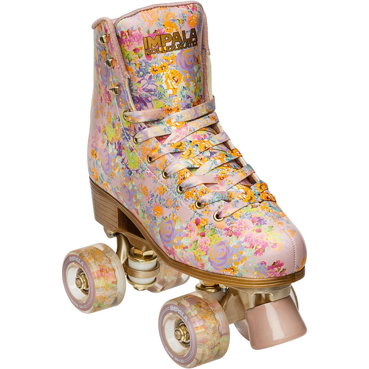 INSTOCK Cynthia Rowley IMPALA Floral Rollerskates