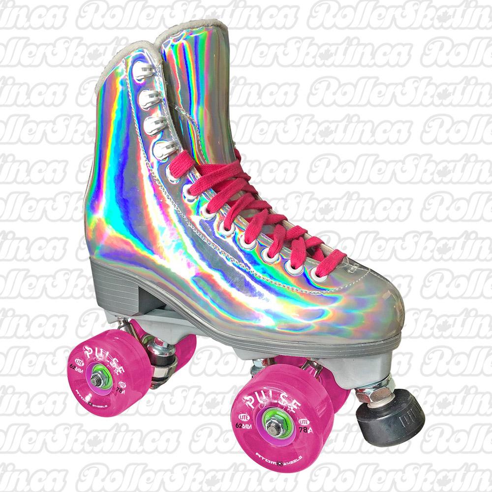 INSTOCK! Jackson EVO Hologram Nylon Plate Shiny Outdoor Roller Skates