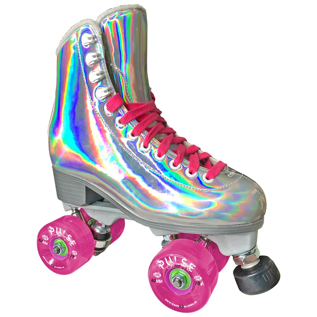 Pre-Order Jackson EVO Hologram Nylon Plate Shiny Outdoor Roller Skates