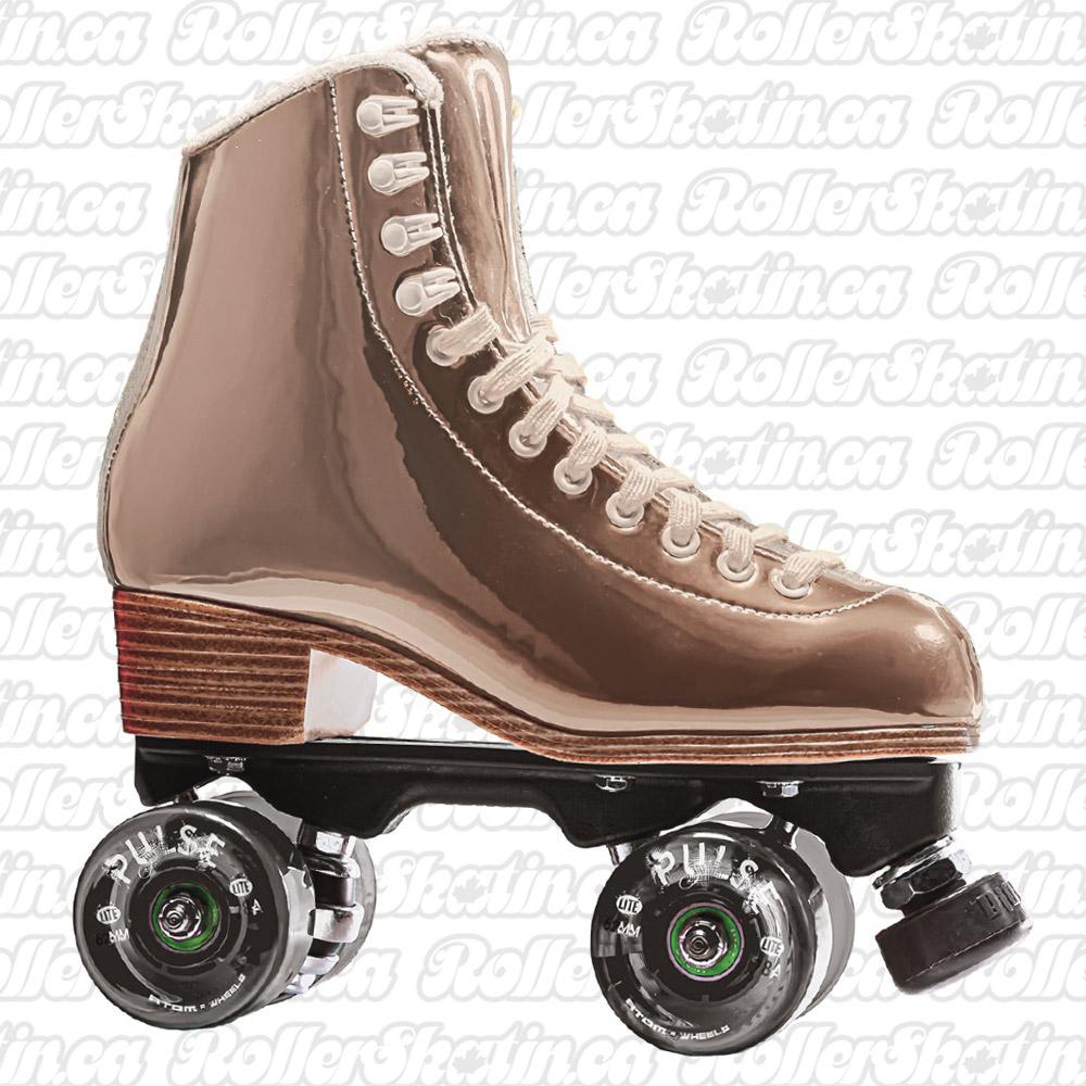 INSTOCK! Jackson EVO Honey Gold Nylon Plate Shiny Outdoor Roller Skates