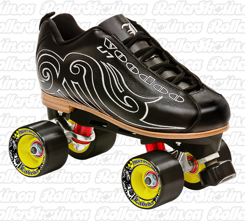 Labeda U7 Voodoo Leather boots OR complete skate – Last ones in size 10 mens!