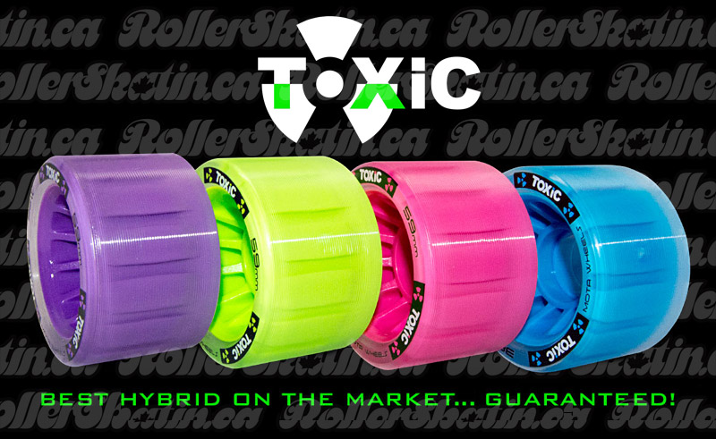 MOTA TOXIC HYBRID 88A GRIP Wheels 4 or 8-Packs Factory Direct!