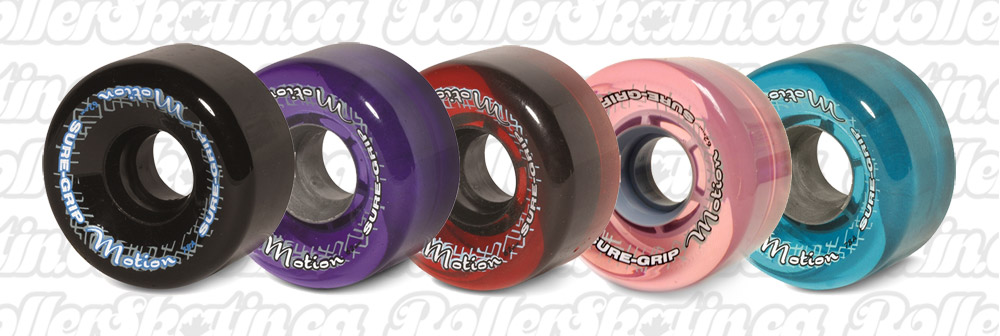 INSTOCK! Sure-Grip MOTION Outdoor Wheels 78A 8-Packs