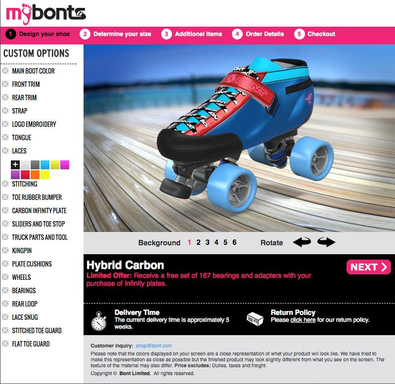BONT MyBONTS Custom Hybrid Carbon Boots