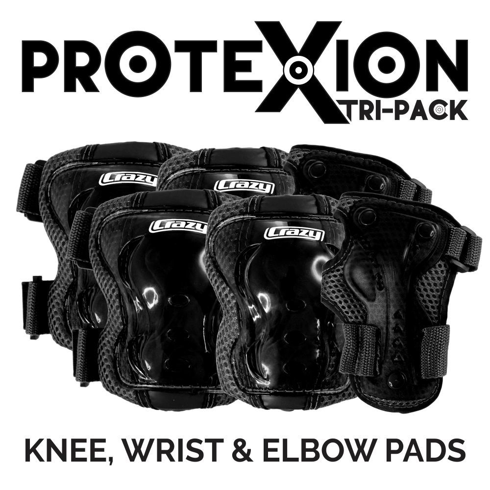 CRAZY ProteXion KIDS Tri-Pack Safety Set (5-9 yrs.)