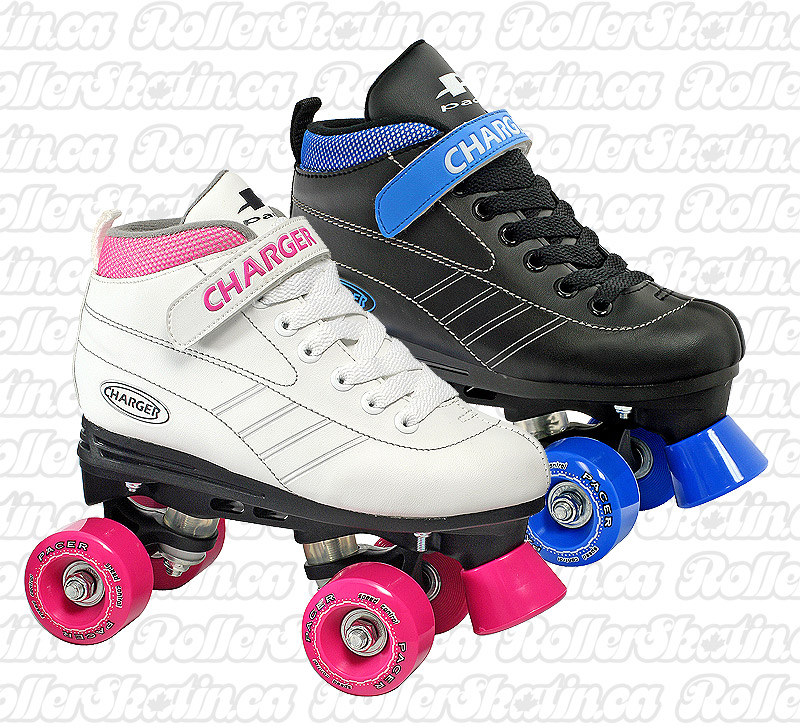 INSTOCK Pacer Charger Kids Roller Skate - Last one in Pink J10!