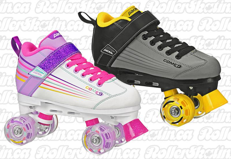 INSTOCK! Pacer Comet Kids Light-Up Skates!
