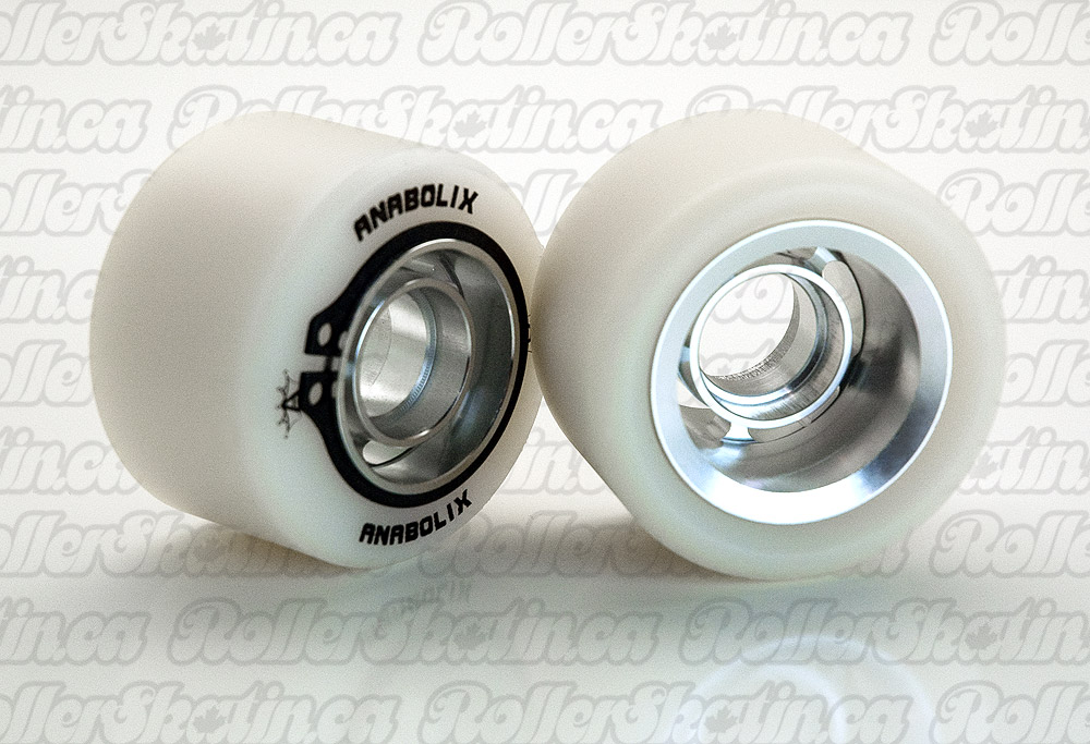 ANABOLIX HEIR Series Pearl Natural Wheels 96A with PACO Hubs Complete 8-Packs