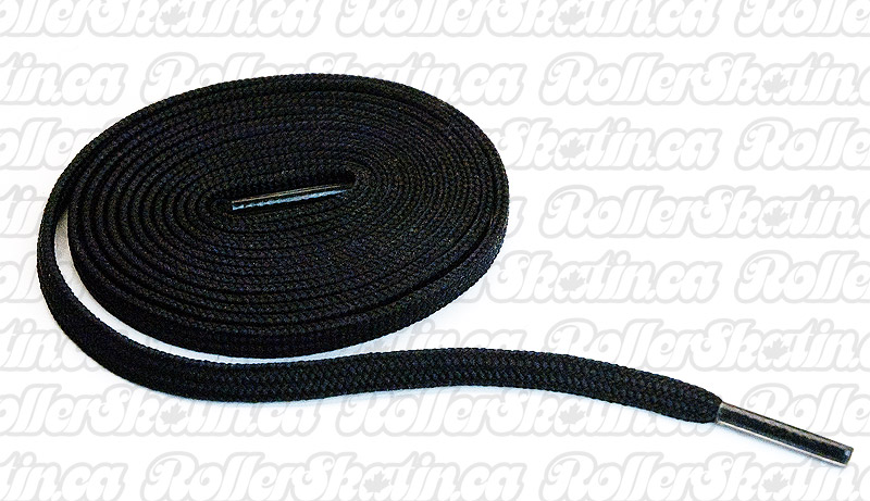 Premium Black Nylon Skate Laces 72