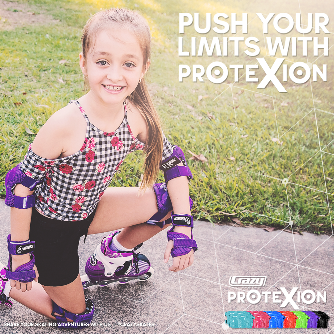 INSTOCK! CRAZY ProteXion KIDS Tri-Pack Safety Set (5-9 yrs.)