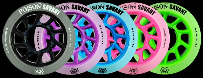 ATOM Poison SAVANT Hybrid Wheels 84A