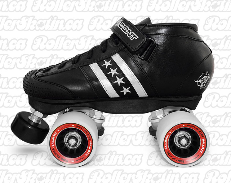 BONT Quadstar High or Low Cut Skate