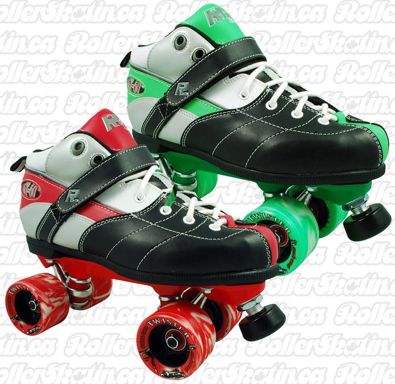 INSTOCK Sure-Grip Rock Expression Mens Size 4 Roller Skates