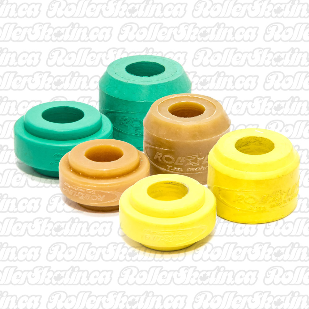 1/2 Set Roll-Line Rubber Elastomer Cushions