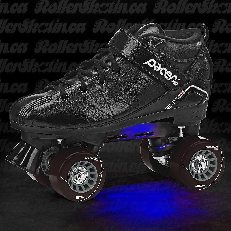 Pacer Revive Light-Up Rink Skates in White OR Black