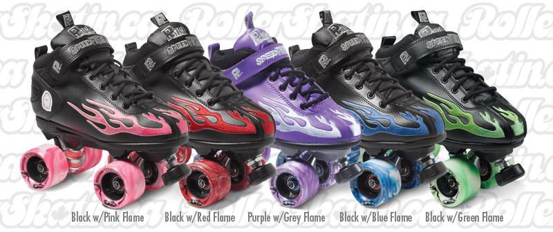 INSTOCK Last pair! Mens 9/Ladies 10 Sure-Grip ROCK Speed Freak Flame Skate