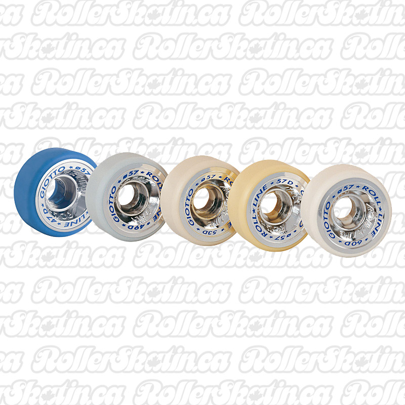 INSTOCK! Roll-Line Giotto Indoor 57mm Wheels 8-Packs